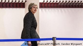 H Μέι στο τελευταίο συμβούλιο κορυφής των Βρυξελλών