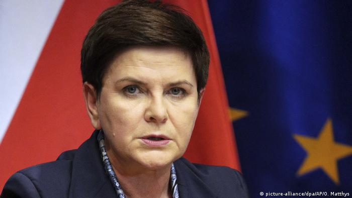 Beata Szydlo (picture-alliance/dpa/AP/O. Matthys)