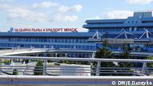 Bilder 2-3 Flughafen in Minsk, Weißrussland, März 2017