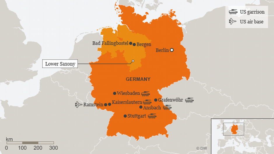 Map Of Vilseck Germany Army Base.Hopeful For More Troops Us Scouts Basing Options In Germany
