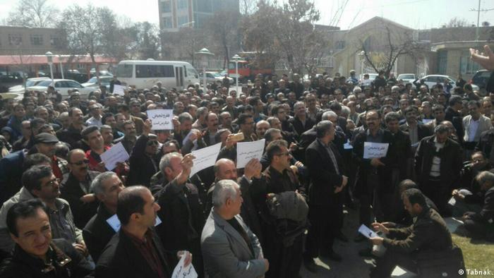 Landesweite Lehrerproteste im Iran (Tabnak)