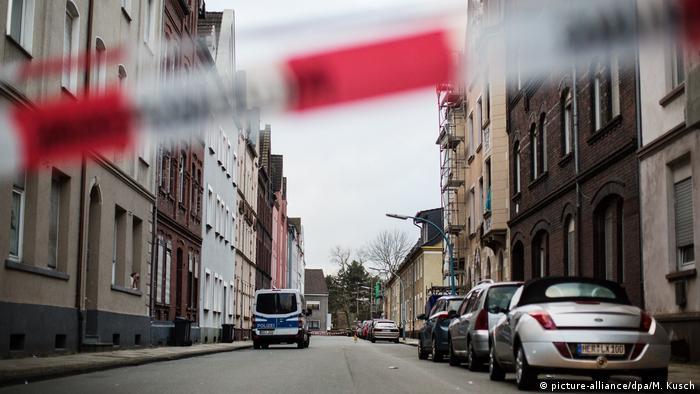 Deutschland Mordfall Jaden in Herne