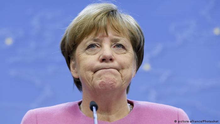 Belgien Angela Merkel in Brüssel