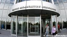 London BBC-Hauptgebäude an der Wood Lane