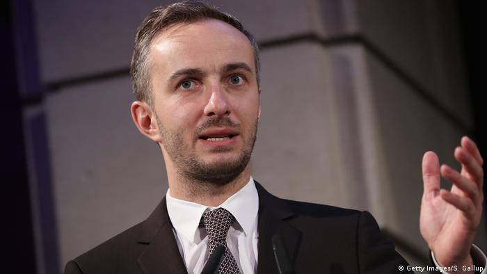 Jan Boehmermann bei der ADC Night Of Honour 2017 (Getty Images/S. Gallup)