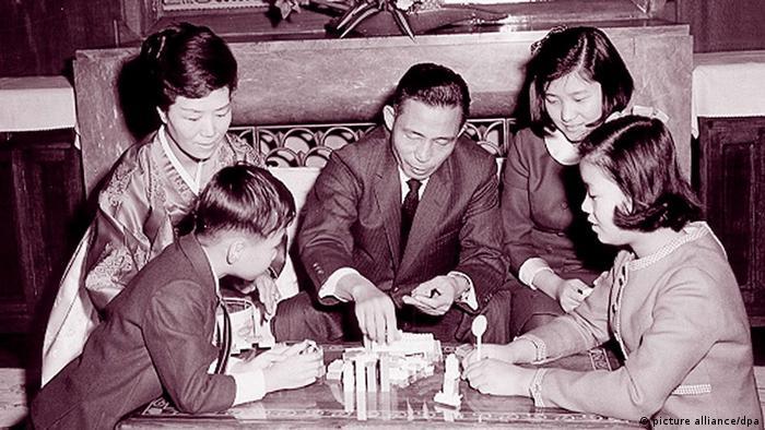 Südkorea Park Chung-hye mit ihrer Familie (picture alliance/dpa)