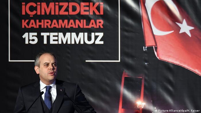 Türkischer Sportminister Akif Cagatay Kilic in Köln