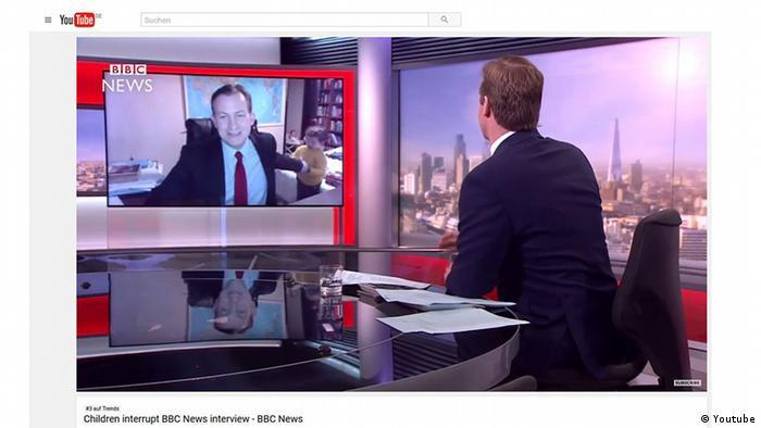 Screenshot Youtube BBC Interview