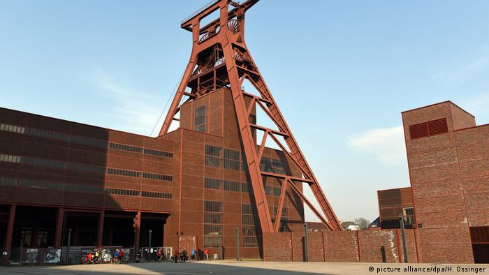 Zeche Zollverein, complejo industrial en Essen.