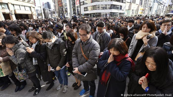 Jahrestag der Natur- und Atomkatastrophe von Fukushima (picture-alliance/AP Photo/Kyodo/J. Ozaki)