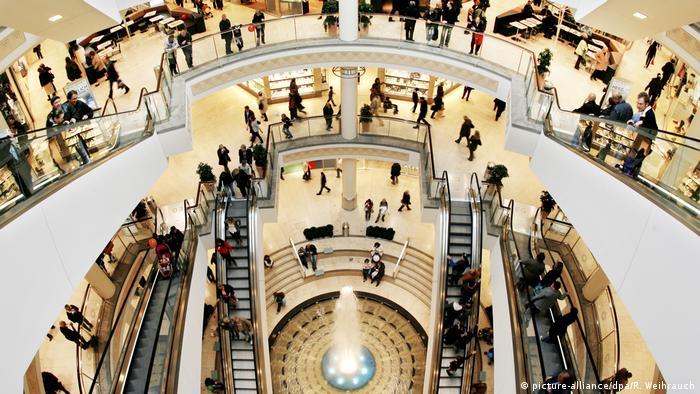 Einkaufszentrum Limbecker Platz in Essen
