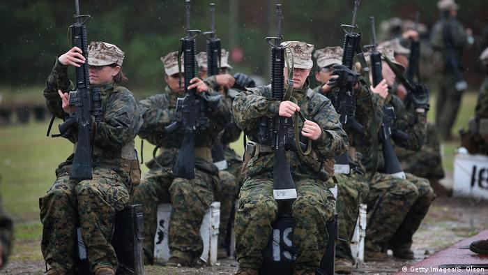US-Marines Frauen (Getty Images/S. Olson)