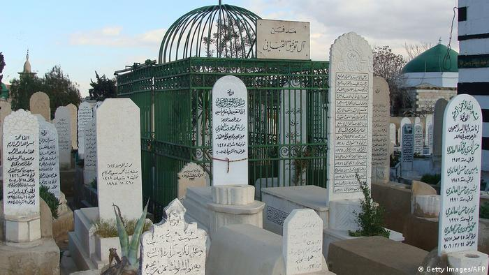 Friedhof in der Gegend Bab al-Saghir in Damaskus (Getty Images/AFP)
