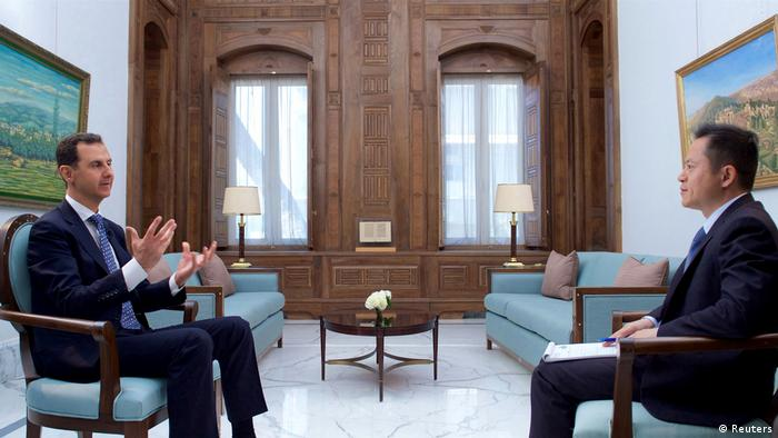 Bashar al-Assad Interview (Reuters)
