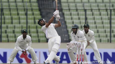 Cricket - 2014 Bangladesh v Simbabwe in Dhaka (Getty Images/AFP/M. Uz Zaman)