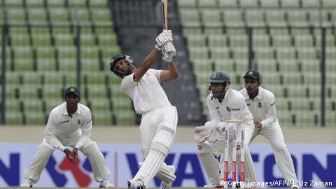 Cricket - 2014 Bangladesh v Simbabwe in Dhaka (Getty Images/AFP/M. Uz Zaman)