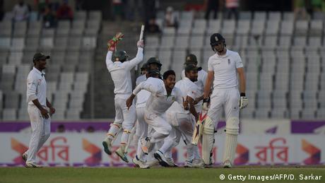 Cricket - 2016 Bangladesh v England in Dhaka (Getty Images/AFP/D. Sarkar)