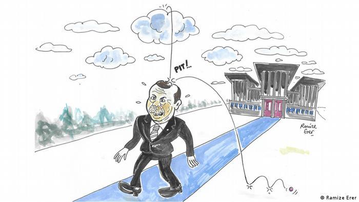 Berkin Elvin - 3. Todesjahr Karikatur für DW von Ramize Erer (Berkin Elvin)