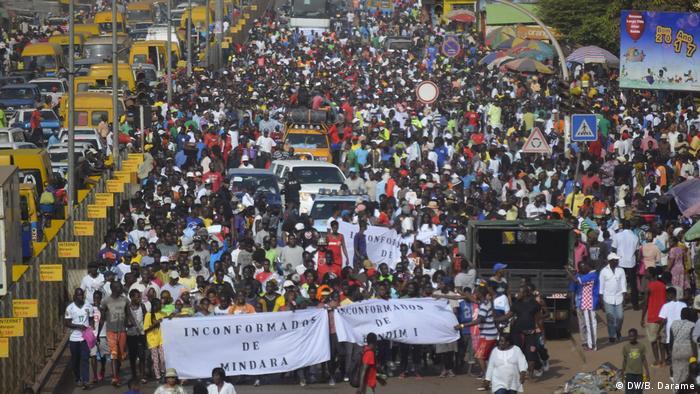 Protest in Bissau