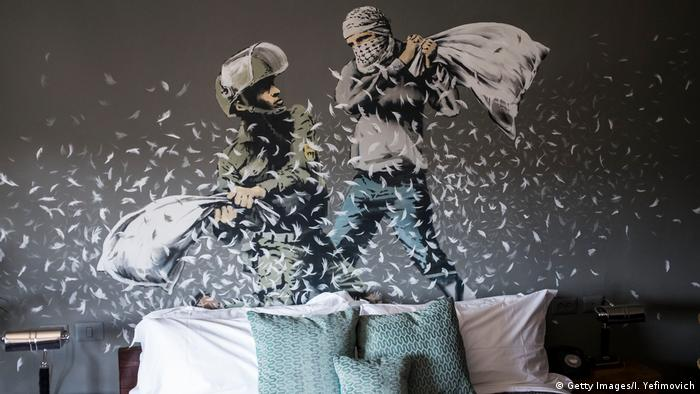 Israel Banksy-Hotel in Bethlehem (Getty Images/I. Yefimovich)
