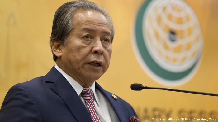 Anifah Aman (picture alliance/AP Photo/Lim Huey Teng)