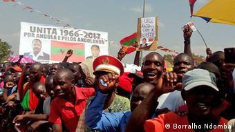 Angola Versammlung UNITA