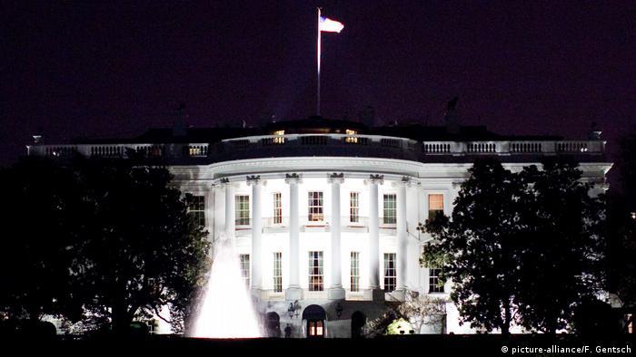 Белый дом в Вашингтоне - здание администрации президента США