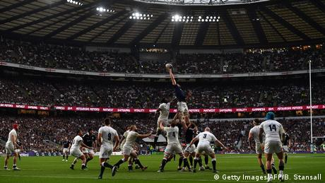 Rugby England gewinnt den Six Nations gegen Schottland (Getty Images/AFP/B. Stansall)