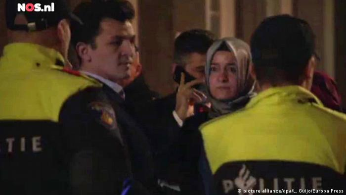 Türkische Familienministerin in Rotterdam gestoppt (picture alliance/dpa/L. Guijo/Europa Press)