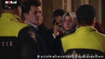 Поліція не пустила міністерку на територію турецького консульства