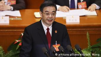 Volkskongress in Peking Zhou Qiang (picture-alliance/dpa/A. Wong)