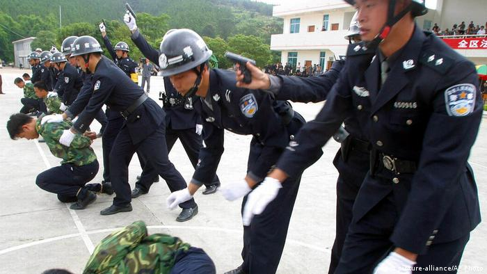 China execution Training (picture-alliance/AP Photo)