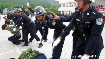 China Todesstrafe Training