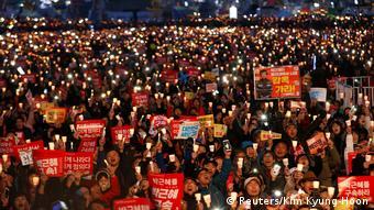 Südkorea Nach Amtsenthebung von Präsidentin Park ist die Gesellschaft weiter gespalten