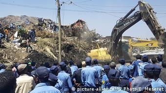 Äthiopien Erdrutsch