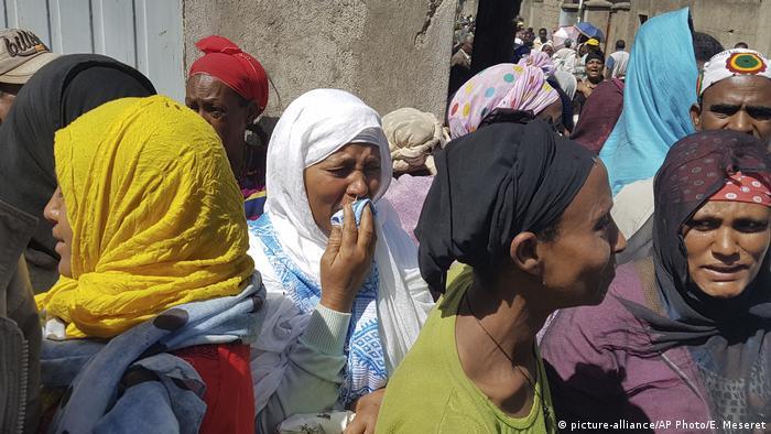Äthiopien Erdrutsch (picture-alliance/AP Photo/E. Meseret)