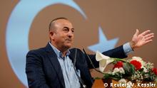 Frankreich Türkischer Außenminister Cavusoglu in Metz