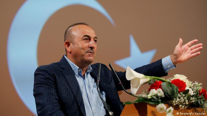 Frankreich Türkischer Außenminister Cavusoglu in Metz (Reuters/V. Kessler)