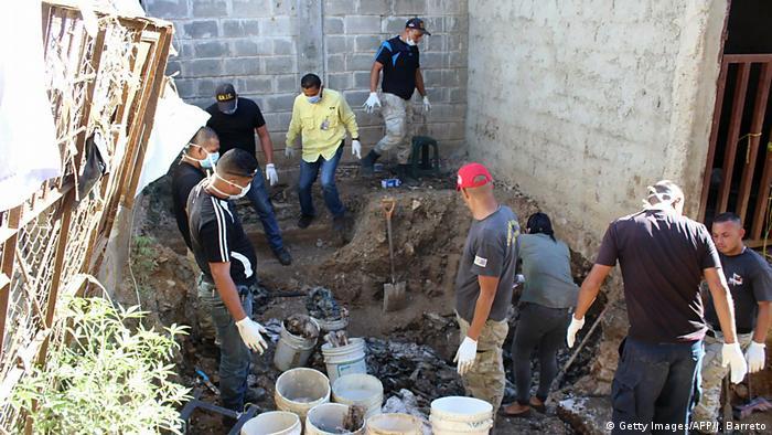 Venezuela San Juan de Los Morro Gefängnis Leichenfund (Getty Images/AFP/J. Barreto)
