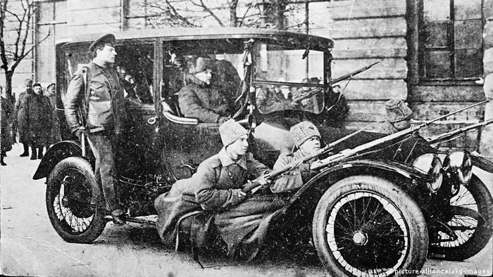 Russland Revolution 1917 (picture-alliance/akg-images)
