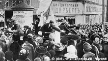 28777 02/25/1917 A demonstration on a square during the February Revolution. RIA Novosti/Sputnik |