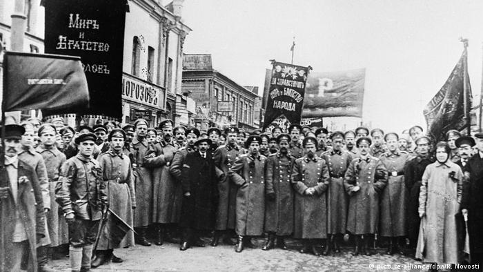 Russland Revolution 1917 - Orel (picture-alliance/dpa/R. Novosti)