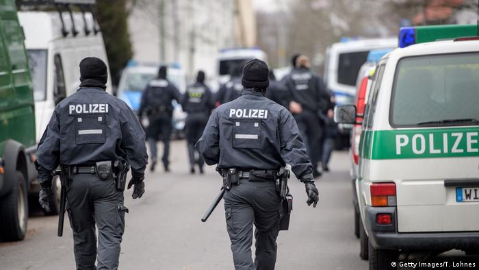 German police anti-terror raids