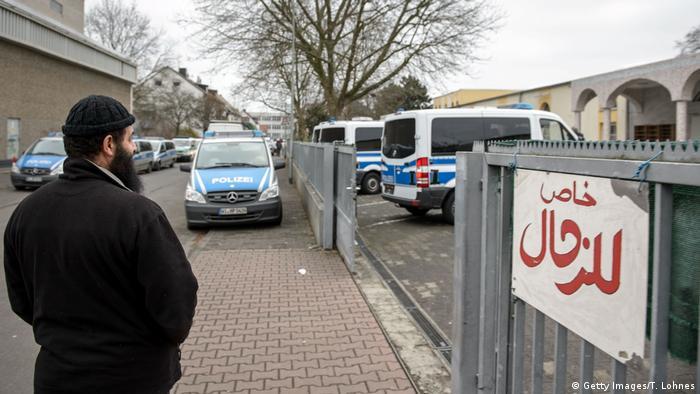 Frankfurt Anti Terror Razzia in Moschee