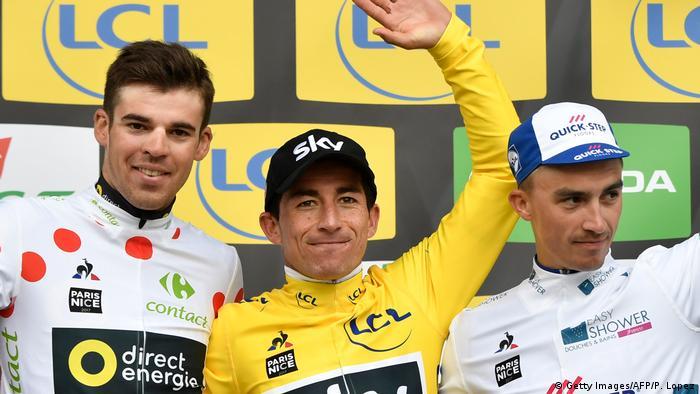 Radsport Segio Henao gewinnt Bergetappe (Getty Images/AFP/P. Lopez)