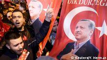 Niederlande Demonstrationen für Erdogan in Rotterdam