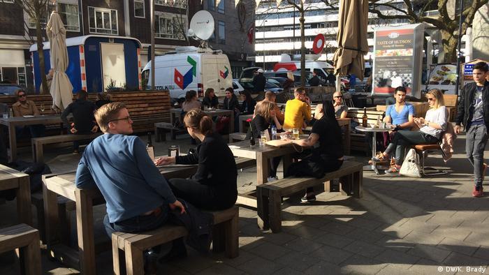 Rotterdam Verhältnis der Niederlande und der Türkei (DW/K. Brady)