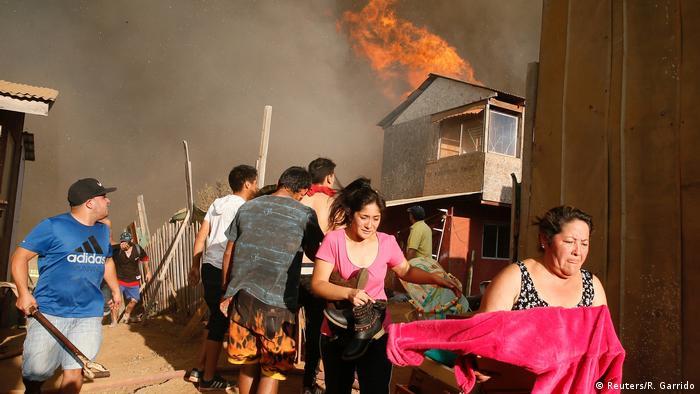 Chile Waldbrände in Vina del Mar (Reuters/R. Garrido)