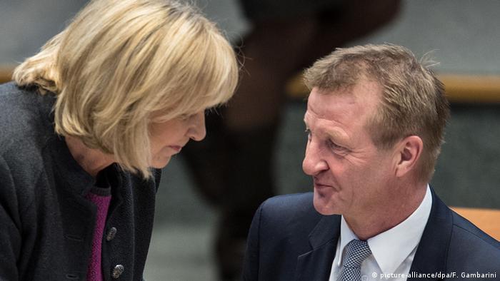 Sitzung des NRW-Landtags Hannelore Kraft und Ralf Jäger