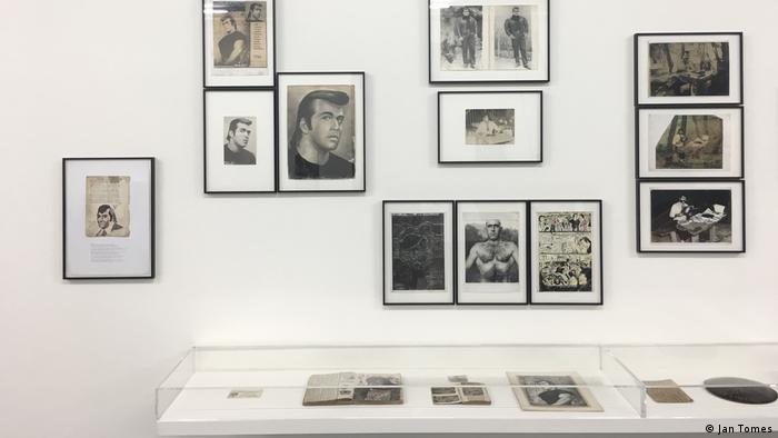 Portraits of Masist Gül at Berlin's Schwules Museum (Jan Tomes)